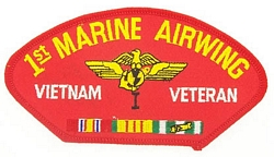 1st Marine Airwing Vietnam Veteran Patches
